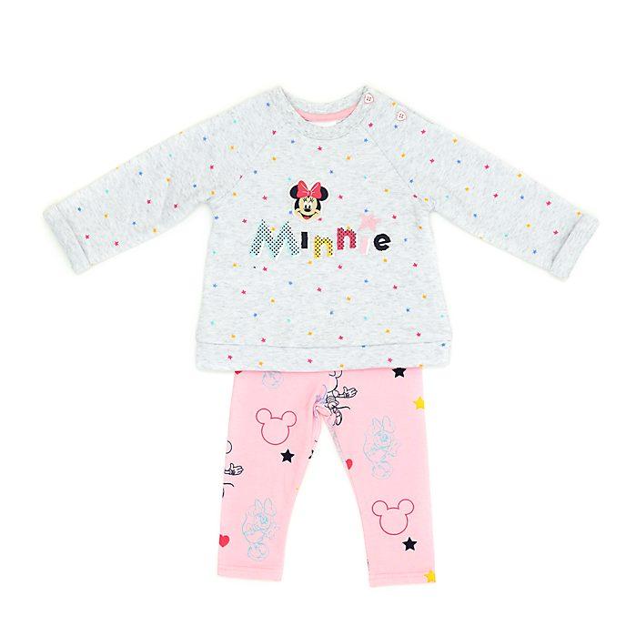Disney Store Ensemble sweatshirt et legging Minnie Mouse pour bébé