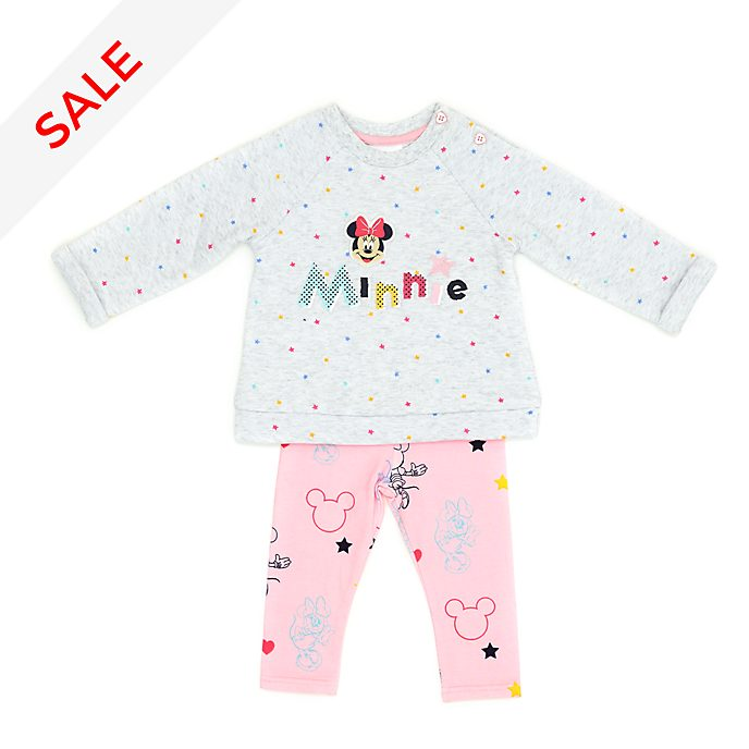Disney Store Minnie Mouse Baby Sweatshirt and Leggings Set