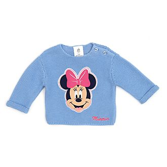 Disney Store Minnie Mouse Baby Knit Jumper