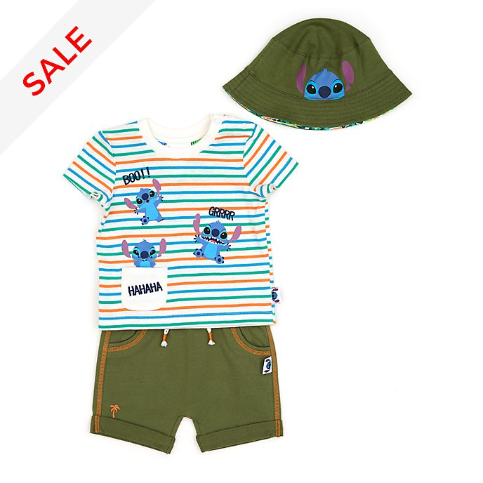 Disney Store Stitch Baby Top and Shorts Set