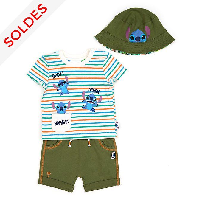 Disney Store Haut et short Stitch pour bébé