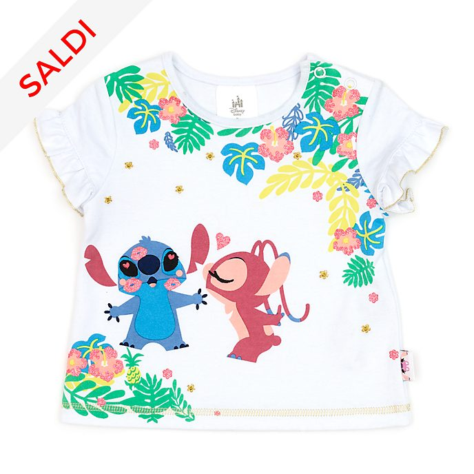Maglietta baby Stitch e Angel Disney Store