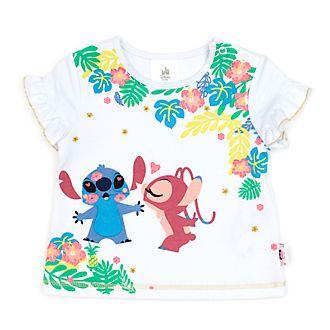 Camiseta Stitch y Ángel para bebé, Disney Store