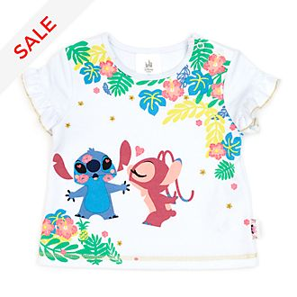 Disney Store Stitch and Angel Baby T-Shirt