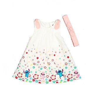 Disney Store Ensemble robe et culotte Stitch et Angel pour bébés