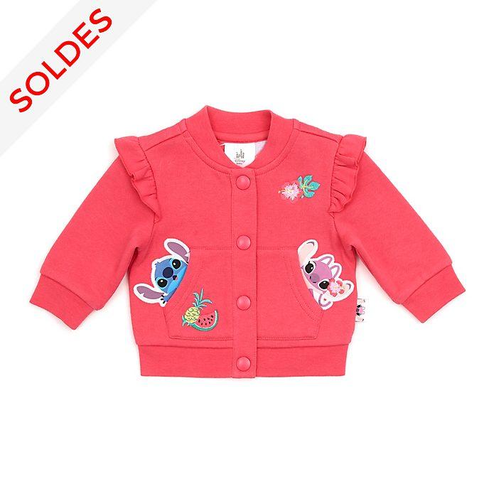 Disney Store Blouson Stitch et Angel pour bébé