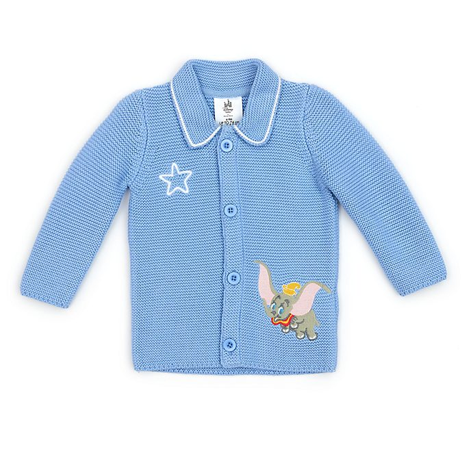 Disney Store Dumbo Baby Knitted Blue Jacket