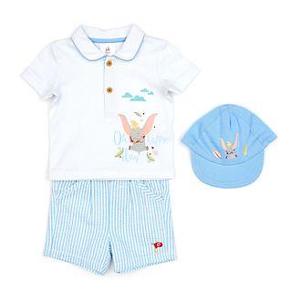 83abfa474 Conjunto camiseta, pantalones cortos y gorro Dumbo para bebé, Disney Store