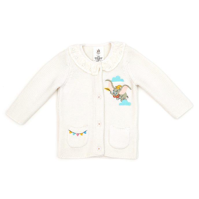 Disney Store Cardigan Dumbo en tricot blanc pour bébés
