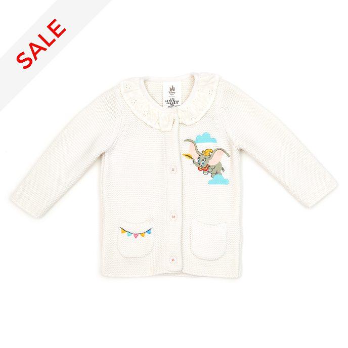 Disney Store Dumbo Baby Knitted White Cardigan