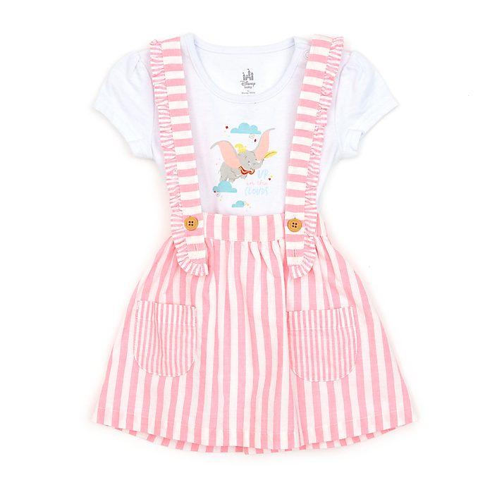 Disney Store Ensemble robe chasuble et body Dumbo pour bébé