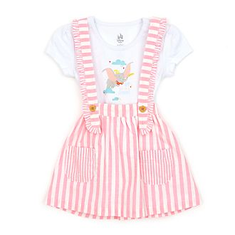 Disney Store Dumbo Pinafore and Body Suit Set