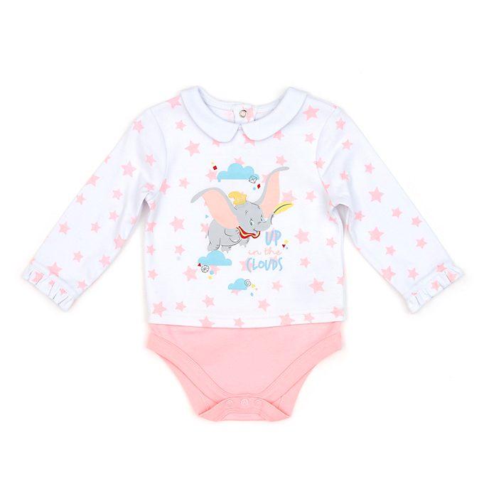 Disney Store Dumbo Pink Baby Body Suit