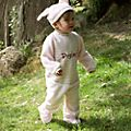 Piglet Baby Body Suit and Hat Set