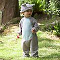 Ensemble chapeau et body Bourriquet pour bébé
