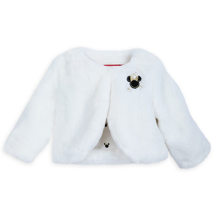 Disney Store Minnie Mouse Share the Magic Fluffy Baby Jacket