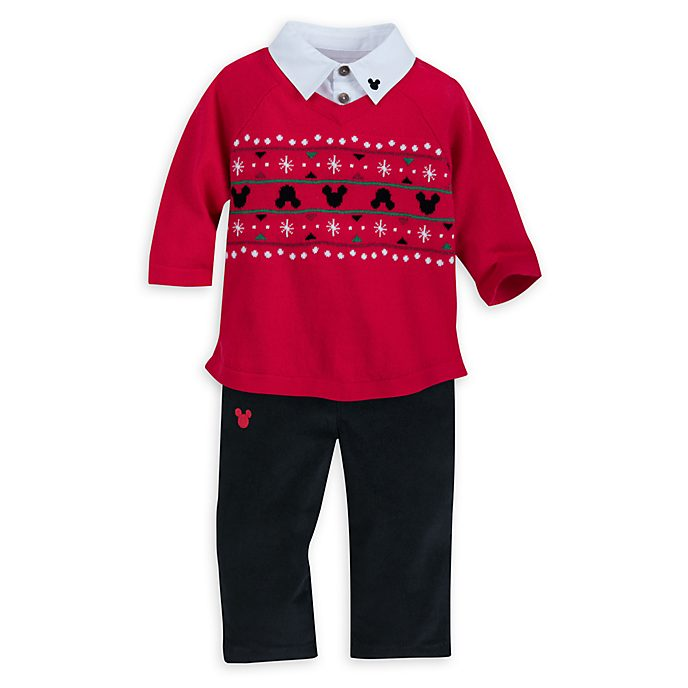 Disney Store Mickey Mouse Share the Magic Baby Jumper and Trousers Set