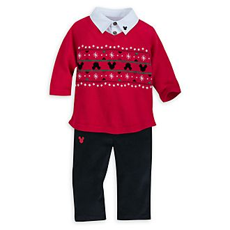 Disney Store - Share the Magic - Micky Maus - Set mit Pullover und Hose für Babys