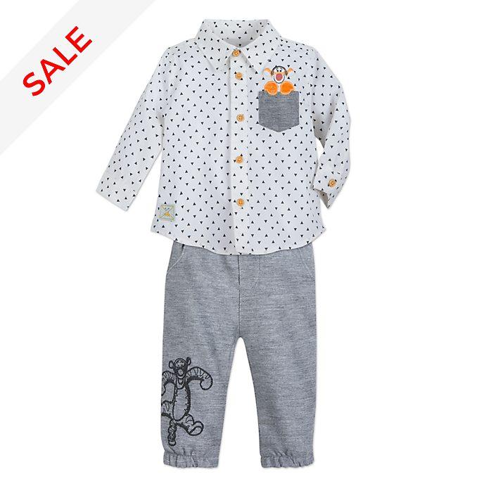 Disney Store Tigger Baby Shirt and Bottoms Set