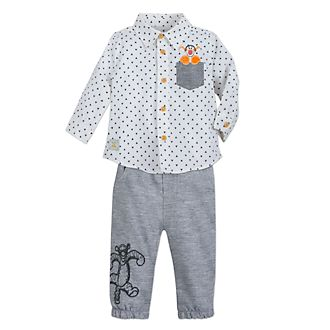Disney Store Tigger Baby Shirt and Bottoms Set