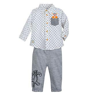 Conjunto camisa y pantalón Tigger para bebé, Disney Store