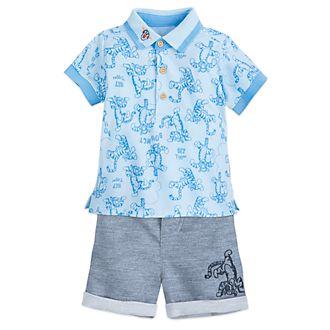 Conjunto camiseta y pantalones cortos Tigger para bebé, Disney Store