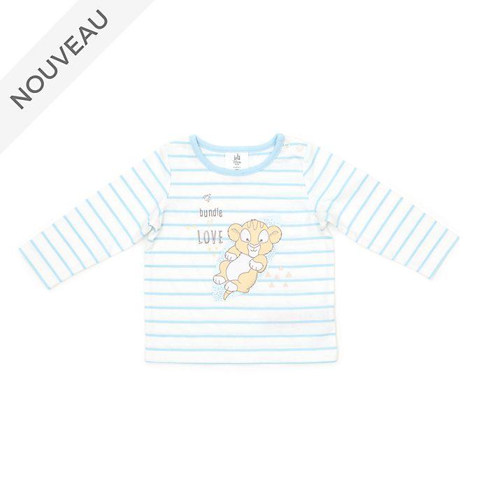 Disney Store T-shirt Simba pour bébé