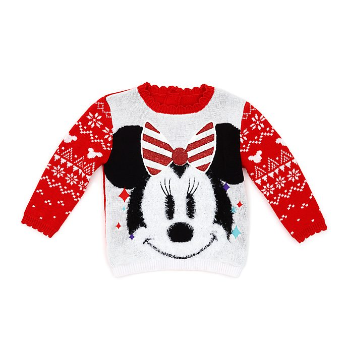 Disney Store - Share the Magic - Minnie Maus - Weihnachtspullover für Babys