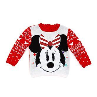 Jersey navideño Minnie para bebé, Comparte la magia, Disney Store