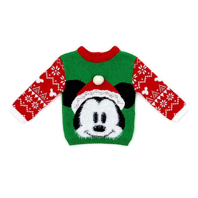 Disney Store - Share the Magic - Micky Maus - Weihnachtspullover für Babys