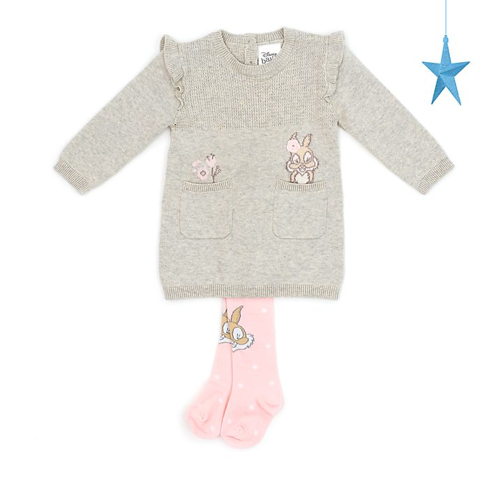 Disney Store Miss. Bunny Baby Dress and Tights Set