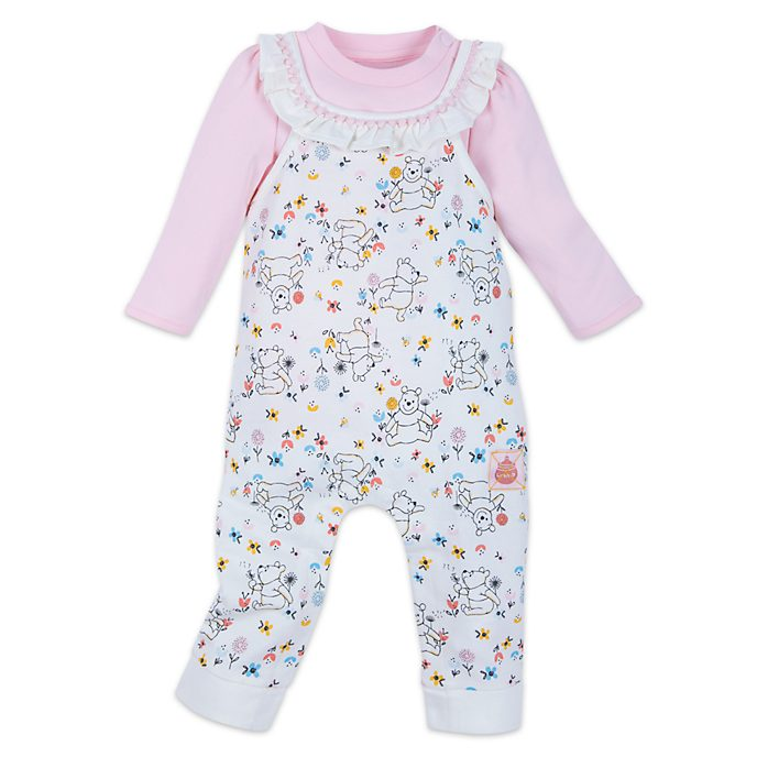 Disney Store Winnie the Pooh Baby Romper and Body Suit Set
