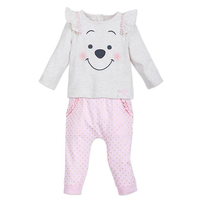 Disney Store - Winnie Puuh - Baby-Strickset