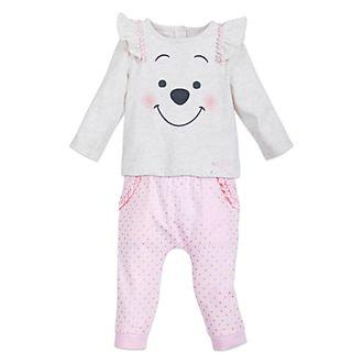 Disney Store Ensemble tricoté Winnie l'Ourson pour bébés
