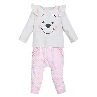 Disney Store Winnie the Pooh Baby Knit Set