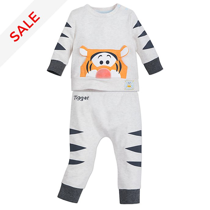 Disney Store Tigger Baby Sweatshirt and Bottoms Set