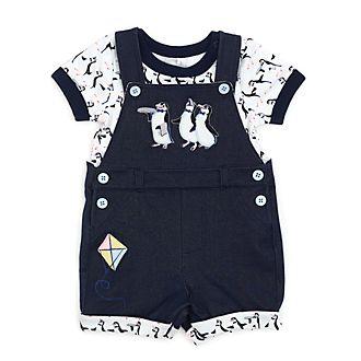 Disney Store Ensemble body et salopette Le Retour de Mary Poppins pour bébé
