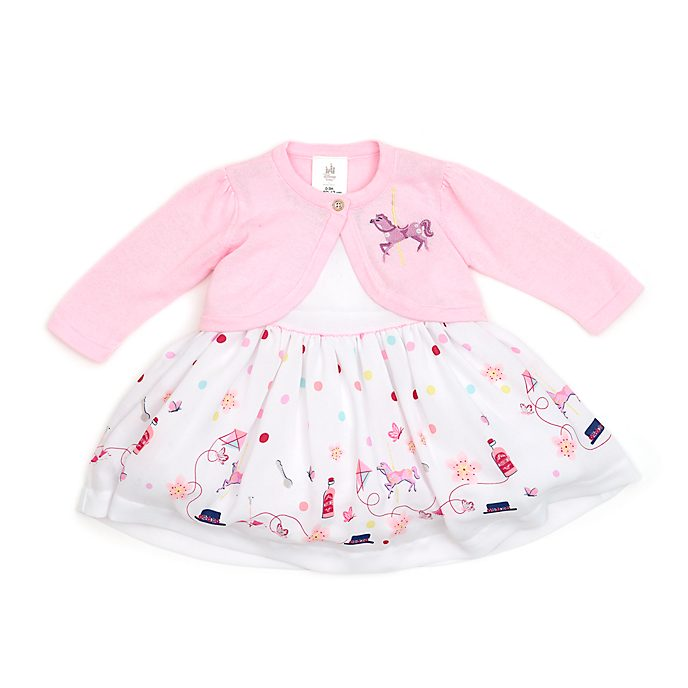 Disney Store Mary Poppins Returns Baby Dress and Cardigan Set