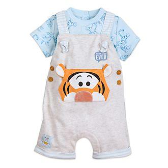 Disney Store Ensemble t-shirt et salopette Tigrou pour bébé