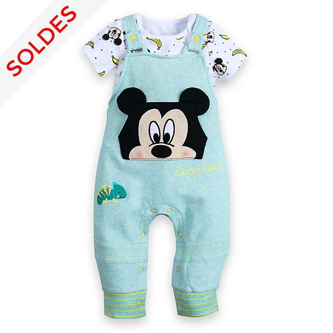 Disney Store Body et salopette Mickey Mouse pour bébé