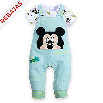 Conjunto de peto y body Mickey Mouse para bebé, Disney Store