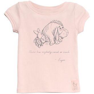 Camiseta para bebés Ígor y Piglet, WHEAT