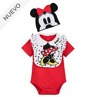 Conjunto de body y babero para bebé Minnie Mouse, Disney Store