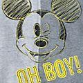 Pagliaccetto baby Topolino Disney Store