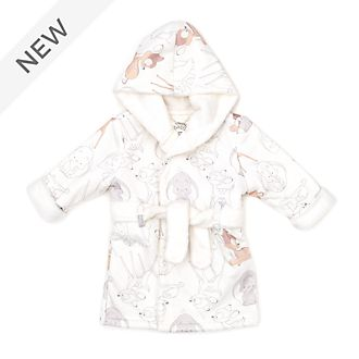 Disney Store Bambi and Dumbo Baby Dressing Gown