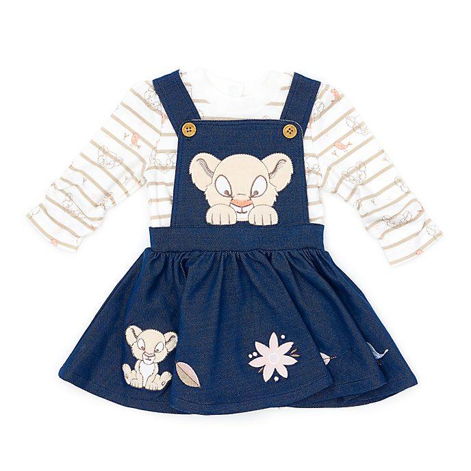 Conjunto body y vestido Nala para bebé, Disney Store