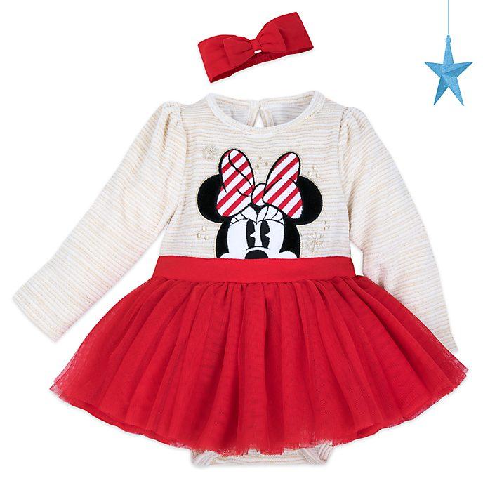Disney Store Body tutu Minnie pour bébés, Holiday Cheer