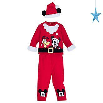 Completo maglietta e pantaloni baby Topolino e Pluto Disney Store