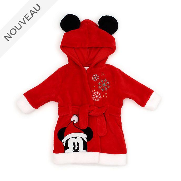 Disney Store Peignoir Mickey pour bébés, Holiday Cheer
