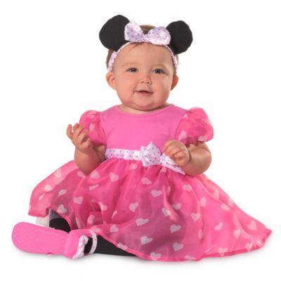 minnie maus kost m pink f r babys. Black Bedroom Furniture Sets. Home Design Ideas